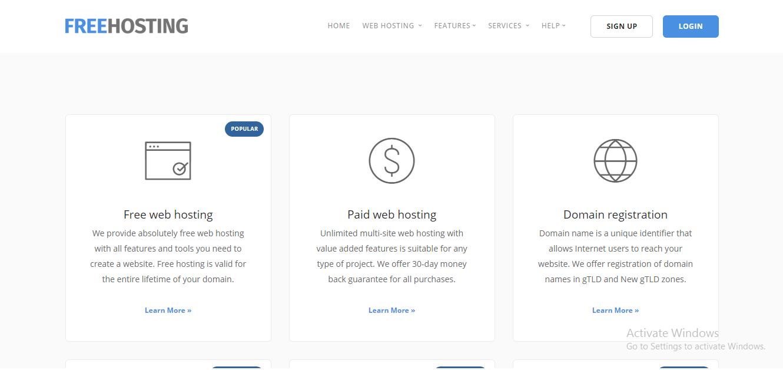 free-hosting-sites-list