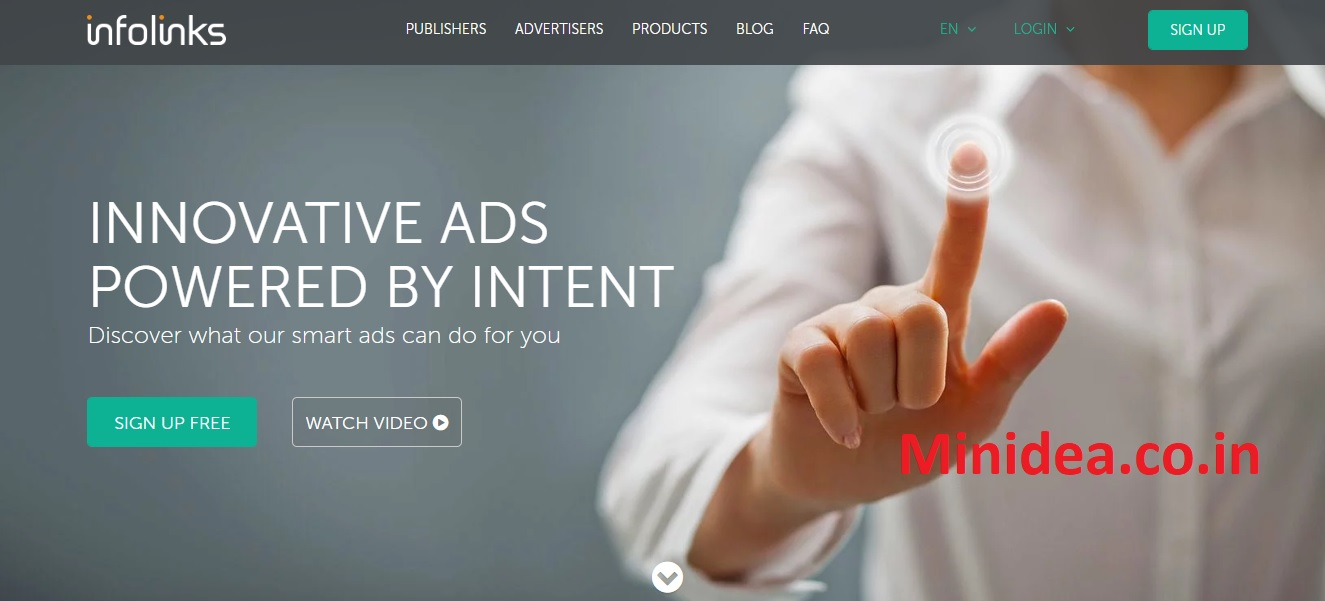 infolinks ads review, network review