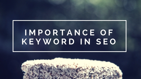 Importance Of Keyword In SEO