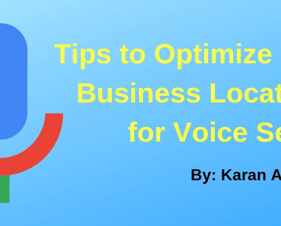 5 Tips to Optimize Your Business Locations for Voice Search