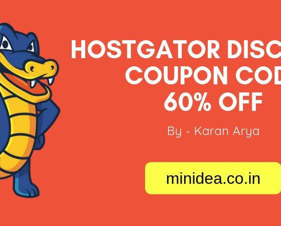 HostGator Discount Coupon Code