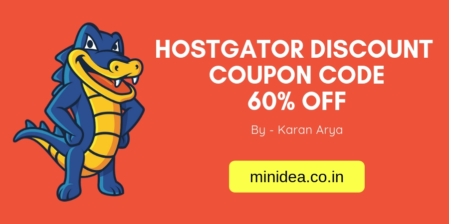 HostGator Discount Coupon Code | Hostgator 60% OFF
