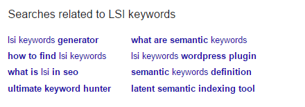 lsi keyword research tool