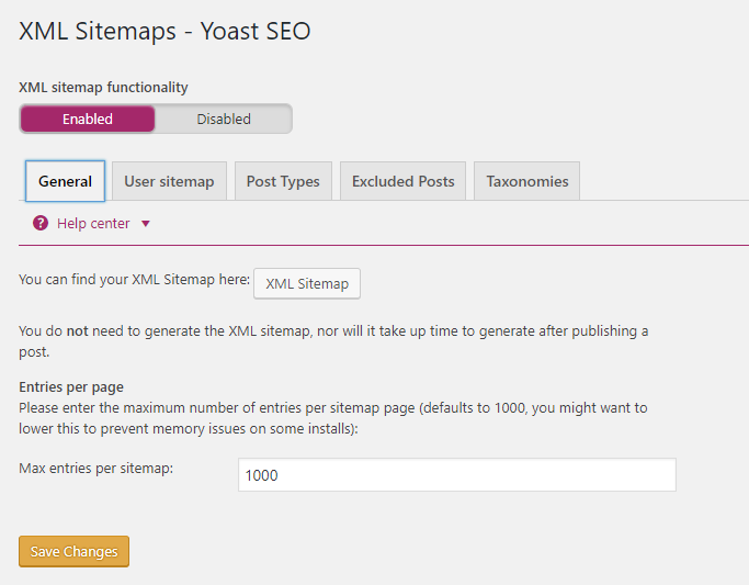 how to create an xml sitemap for wordpress website