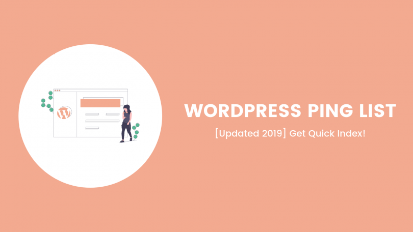 wordpress website ping list