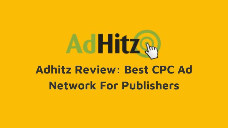 adhitz review cpc ad network