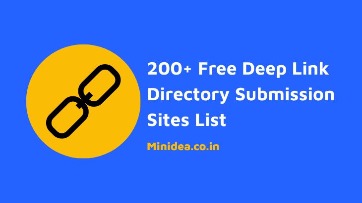deep link directory submission