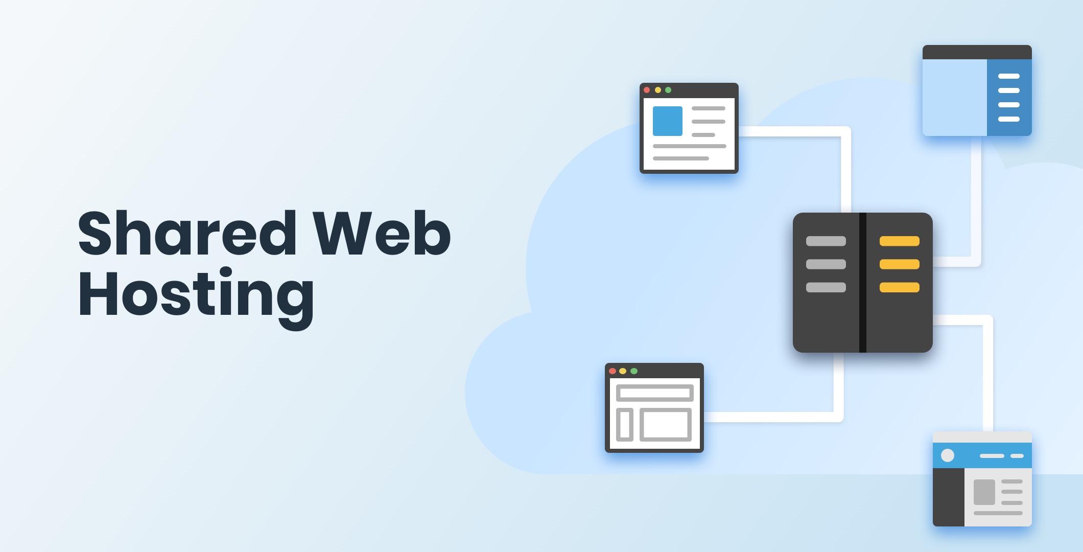 Shared Shared Web HostingWeb Hosting