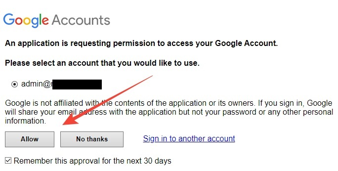 Google question approval